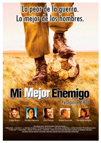 """""""Mi mejor enemigo"""", de Alex Bowen (2004). Coproducción con Chile. Casting del elenco argentino."""