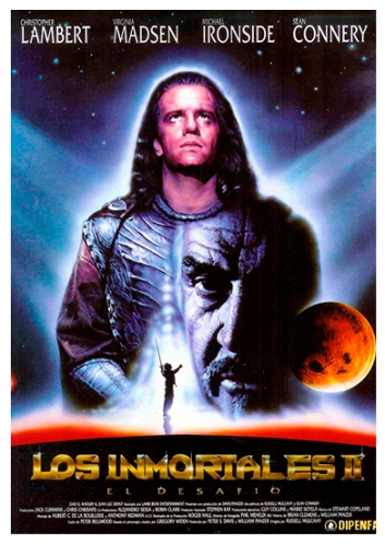 """Highlander II"" de Russell Mulcahy. (1990). Casting del elenco argentino"